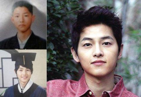 Imagini pentru song joong ki graduation