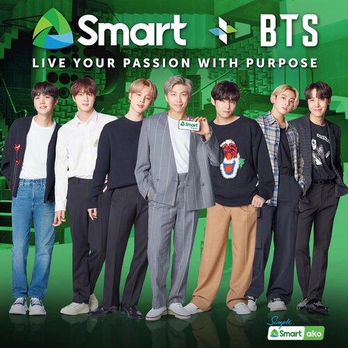 Live Smart x BTS