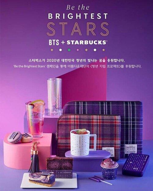 BTS x Starbucks Korea