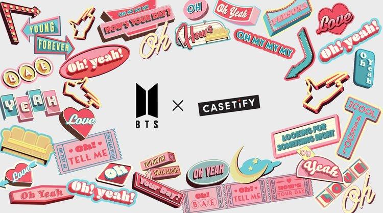 BTS x CASETiFY