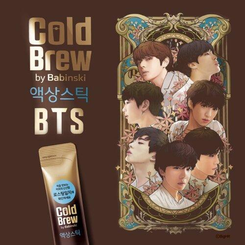 Babinski Cold Brew Coffee x BTS